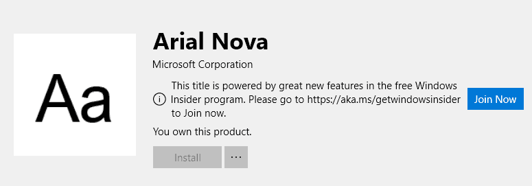 microsoft to offer fonts through microsoft store