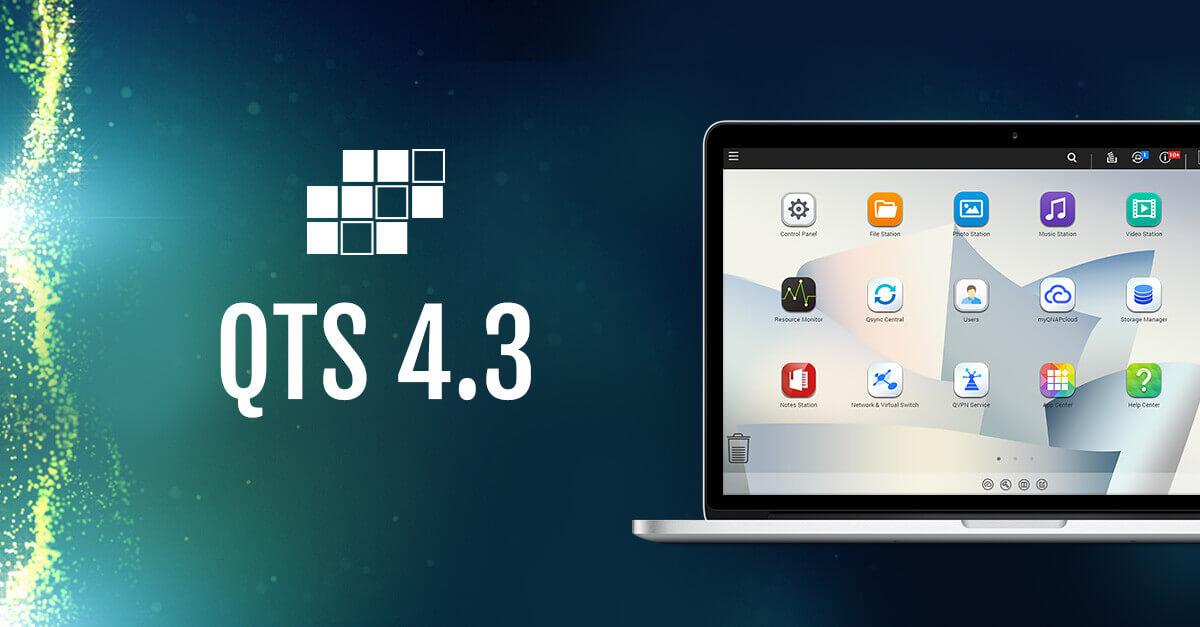 QNAP Releases QTS 4 3 4 OS for their NAS Units