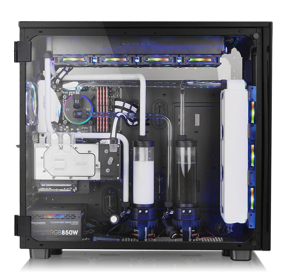 Thermaltake Announces View 91 Tempered Glass RGB Edition