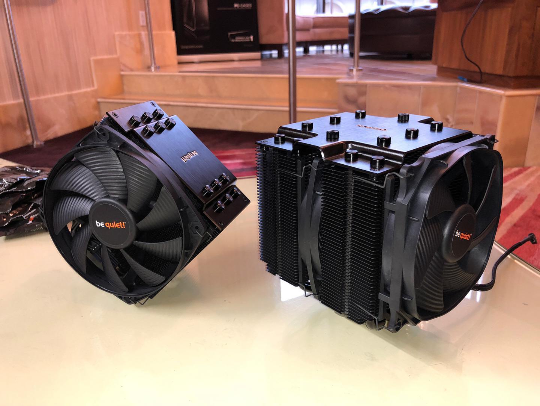 be quiet! Shows Dark Rock Pro 4 and Dark Rock 4 CPU Coolers