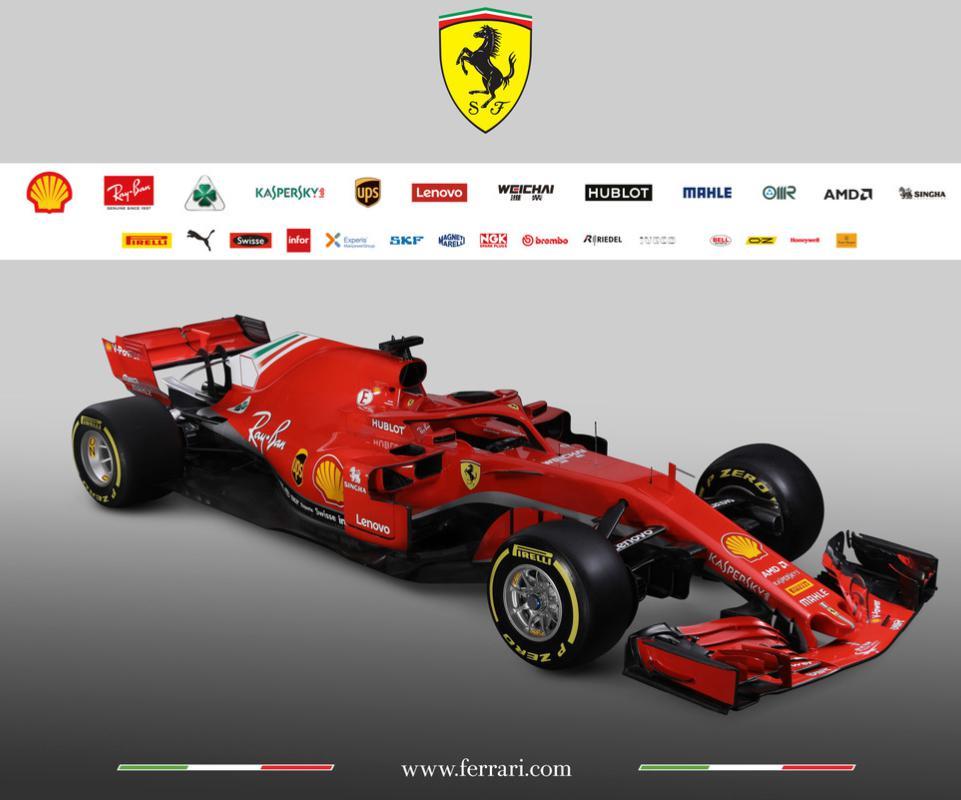 Amd Sponsor Of Scuderia Ferrari Formula 1 Team This Year