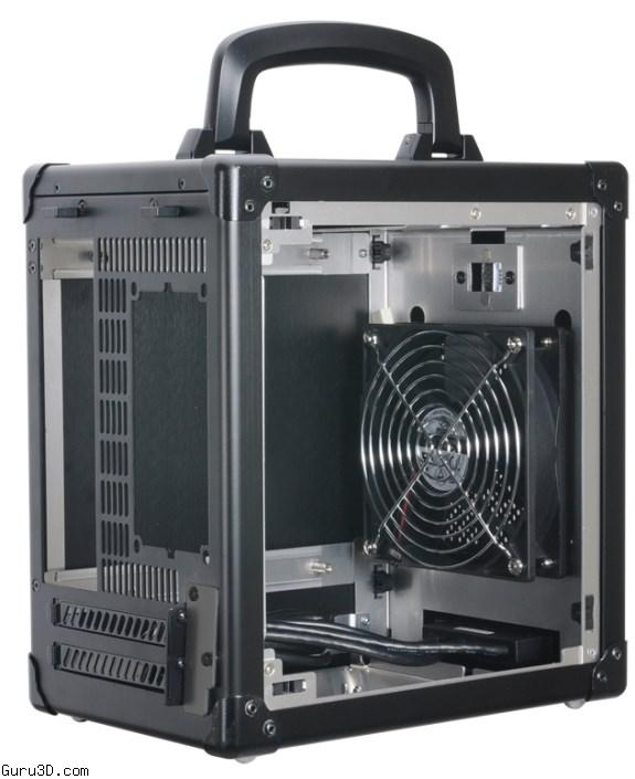 Lian Li Pc Tu100 Mini Itx Tower Comes With A Carrying Handle