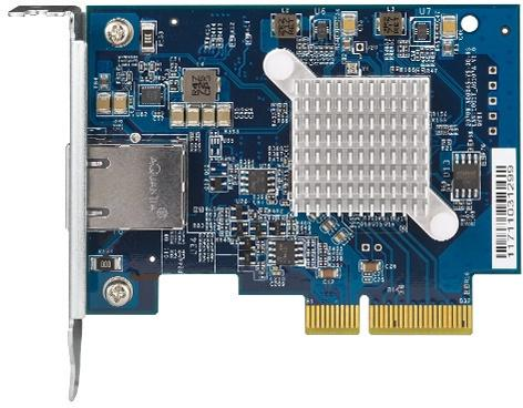 QNAP Unveils 139 USD QXG-10G1T 10GBASE-T Network Card for