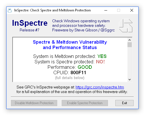 Intel and Microsoft release final Spectre Patches up to and