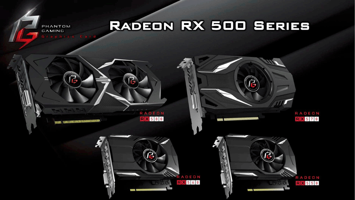 ASRock Phantom Gaming Graphics Cards Leak - Includes Entire
