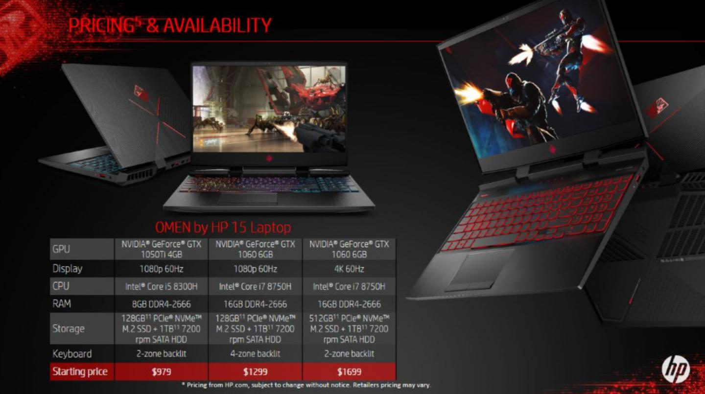 HP Offers New OMEN 15 Laptop and Gaming Accessories