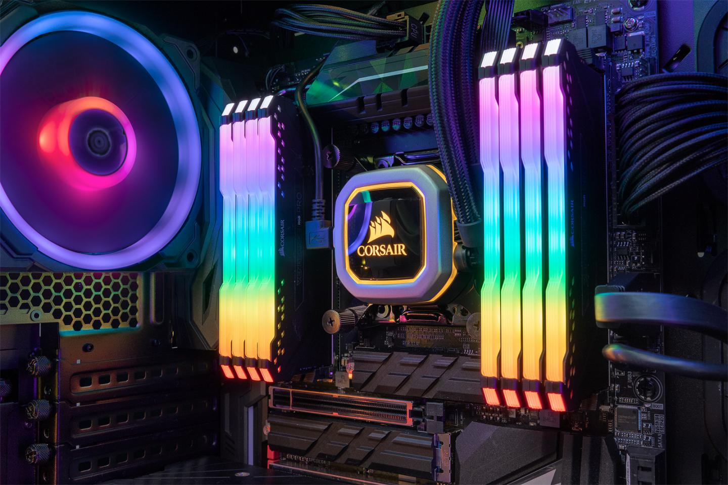 Corsair Launches iCUE, Vengeance RGB PRO DDR4 Memory and