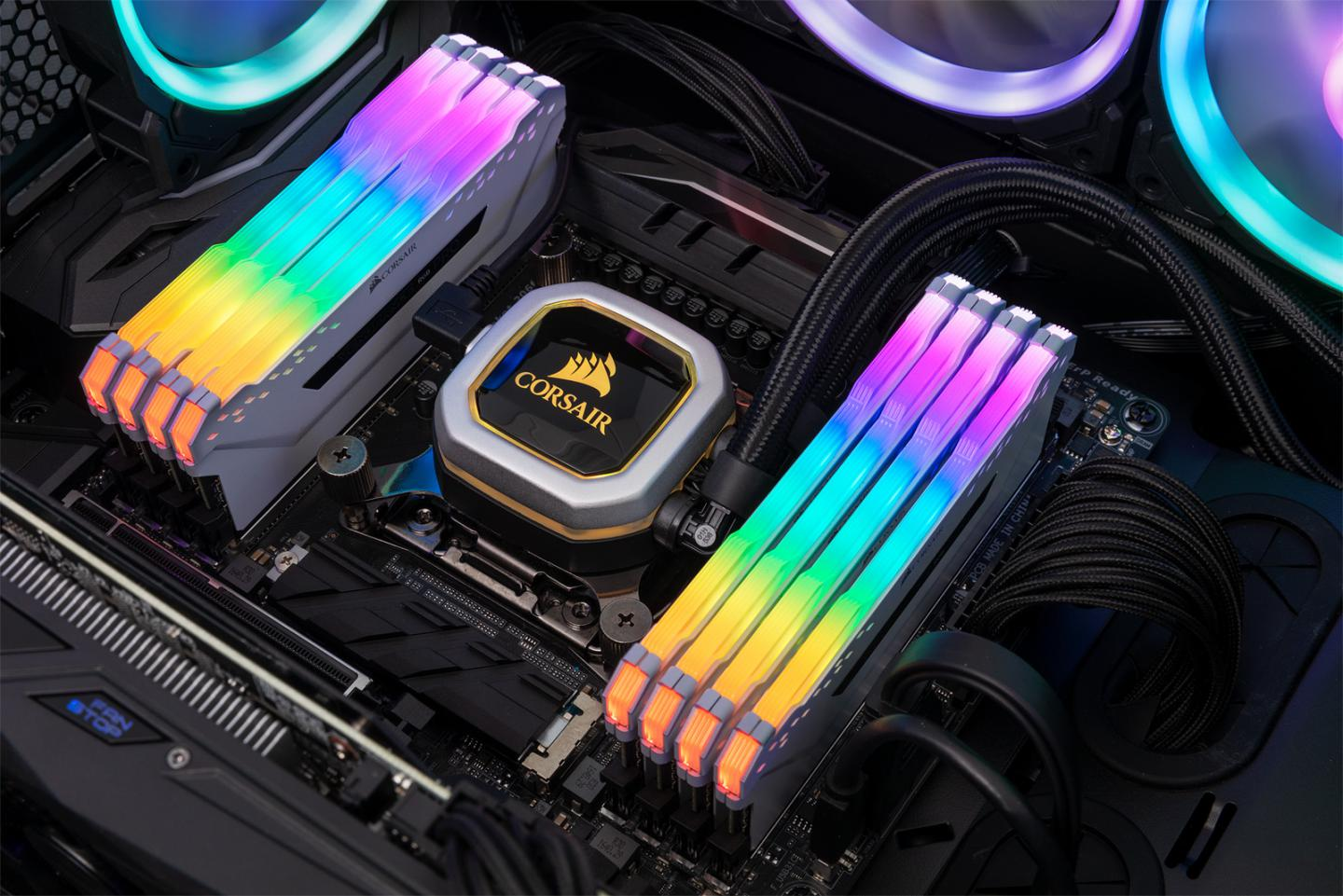 Corsair Launches iCUE, Vengeance RGB PRO DDR4 Memory and Obsidian
