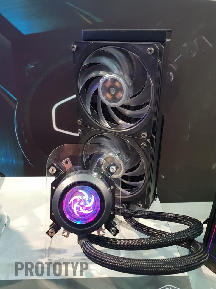 Cooler Master Shows AIO Liquid Coolers And Concept Thermo