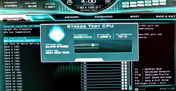 EVGA builds CPU stress tester into BIOS