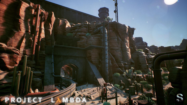 Half Life looks sweet in Unreal Engine 4