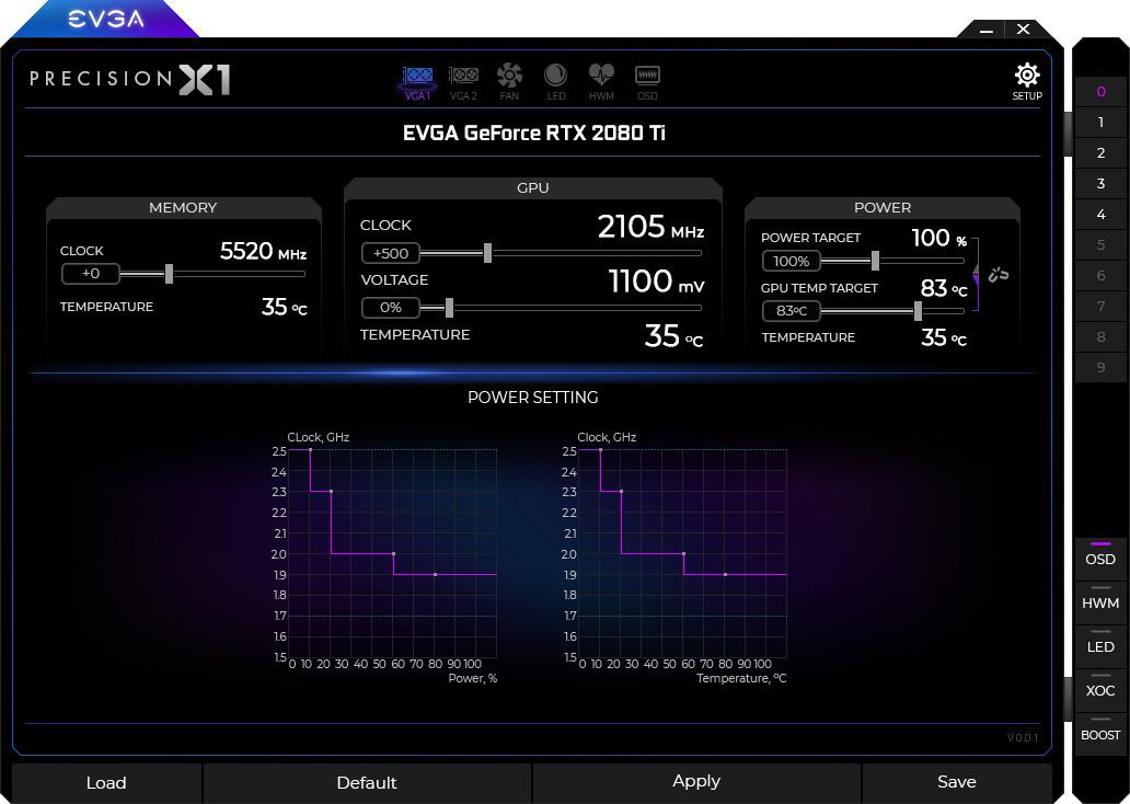 EVGA Precision X1 Will Find Optimal Tweak Settings Automatically