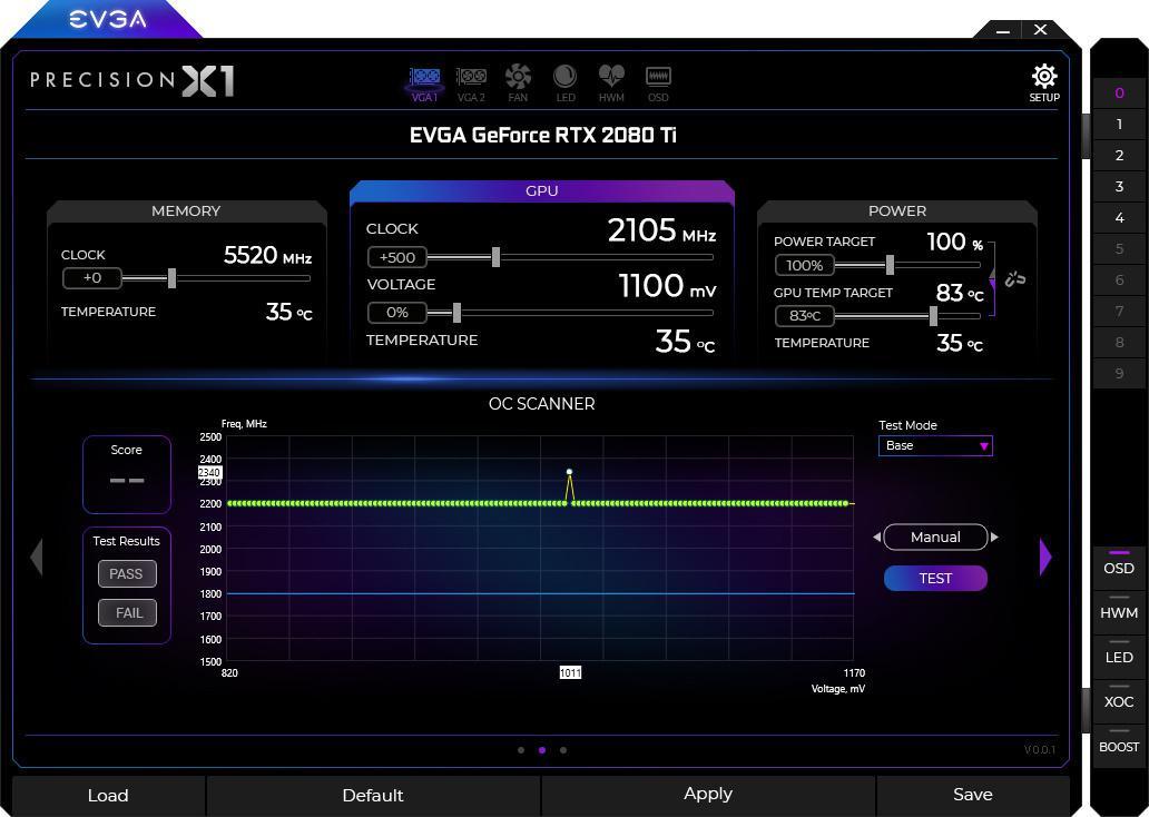 EVGA Precision X1 Will Find Optimal Tweak Settings Automatically