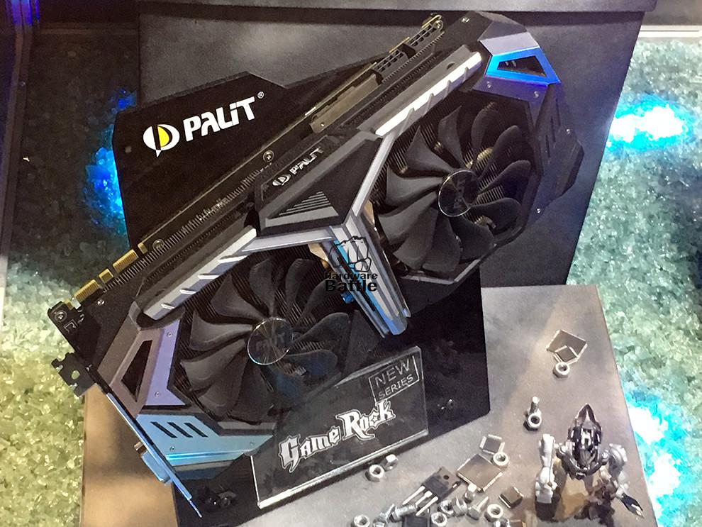 PALIT Shows New GeForce RTX JetStream and GameRock series photos