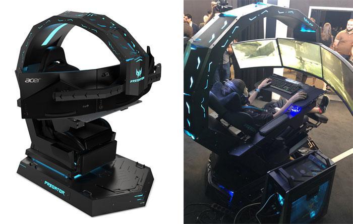 Phenomenal Acer Predator Thronos The Ultimate Game Of Thronos Chair Bralicious Painted Fabric Chair Ideas Braliciousco