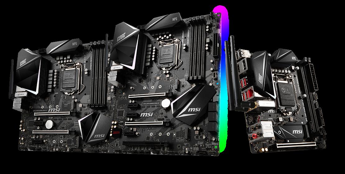 Msi Intros Meg Z390 Ace And Mpg Z390 Gaming Edge