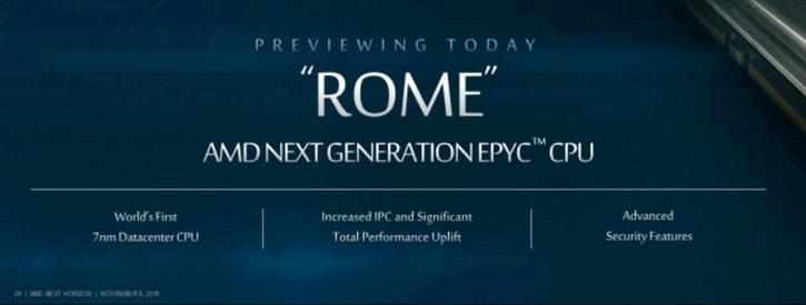 AMD Next Horizon Event - Epyc 2 64 Cores - 7nm
