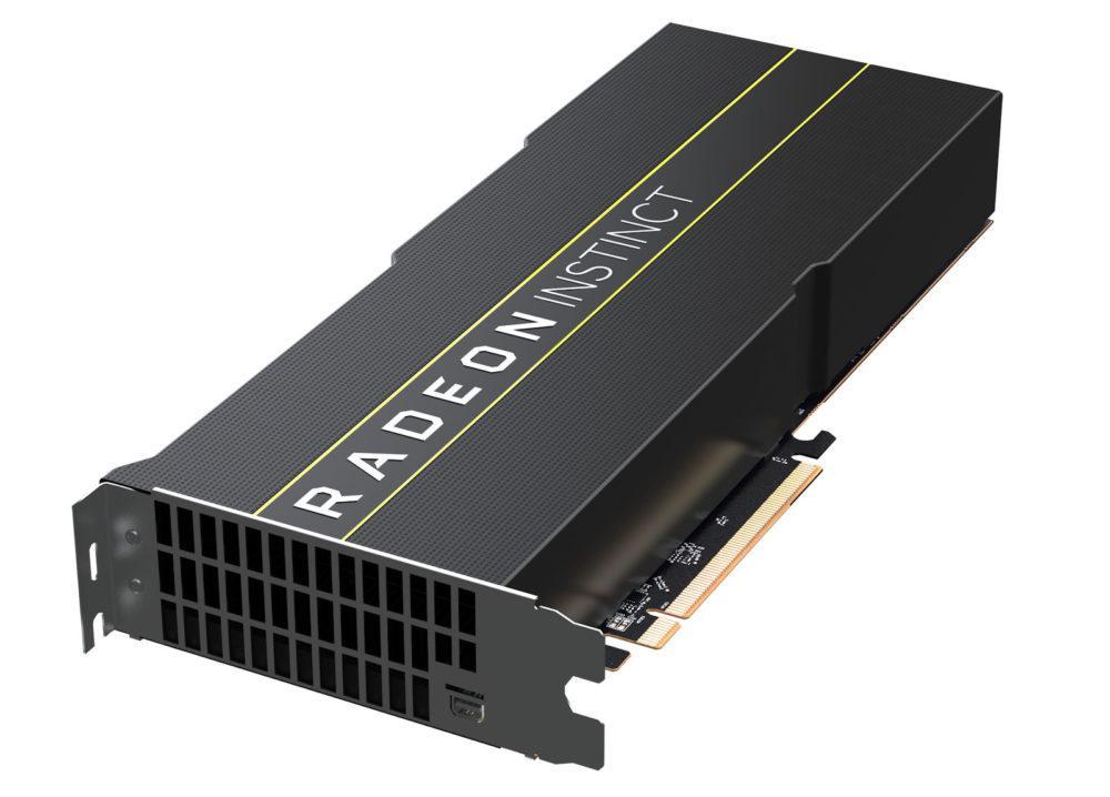 AMD announces Radeon Instinct MI60 and Instinct MI50 at 7nm