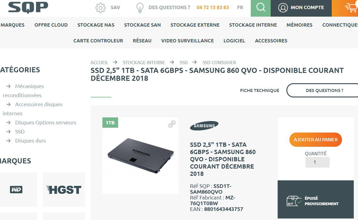 Samsung 860 Qvo Ssds 1tb 2tb And 4tb Spotted At Really Low Prices
