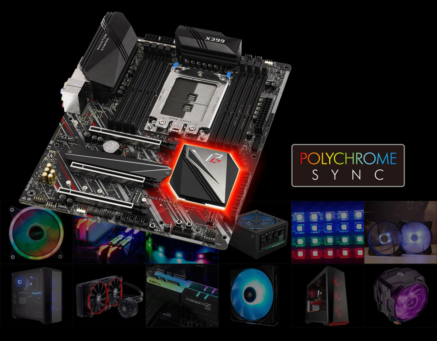 ASRock Releases X399 Phantom Gaming 6 for AMD Ryzen