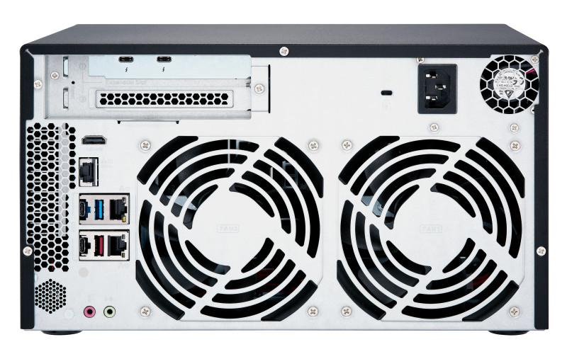 QNAP Offers New 10GbE and Thunderbolt 3 NAS TVS-x72XT Series