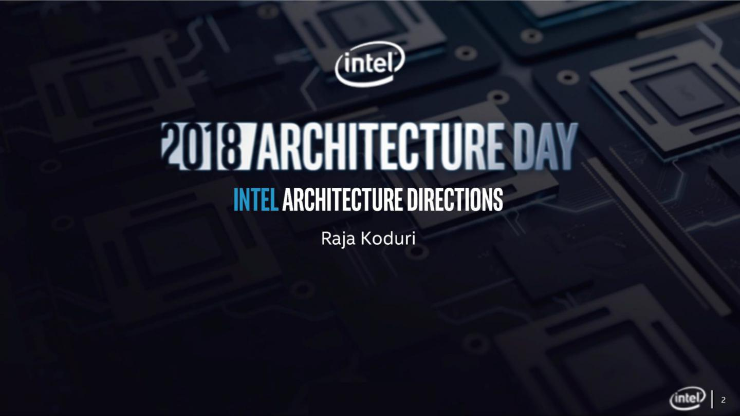 Intel talks new architectures for 2019 and beyond