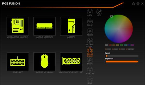 Gigabyte Updates RGB Fusion towards v2 0 with Single Click