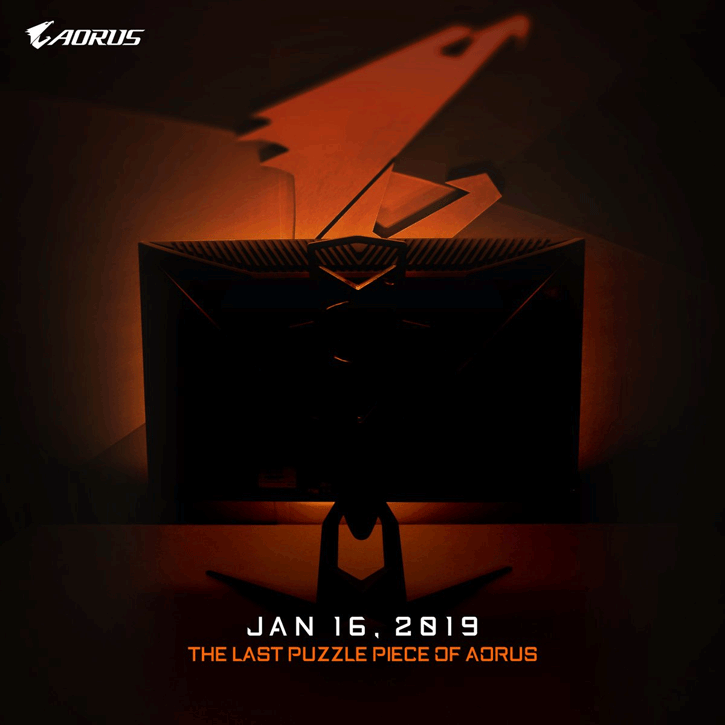 Gigabyte To Announce WHQD Gaming Monitor at CES, 10-bit, 144