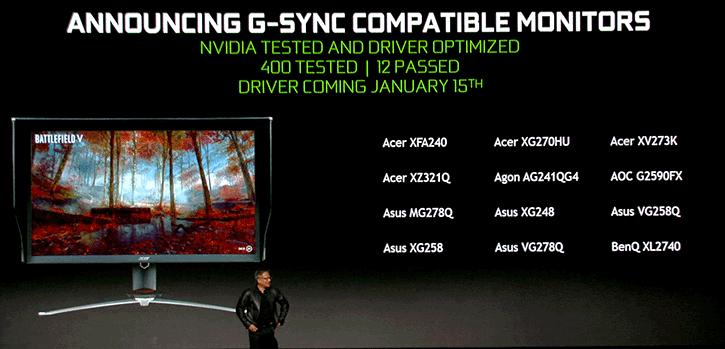 NVIDIA To support VESA Adaptive-Sync Technology, GSYNC Compatible