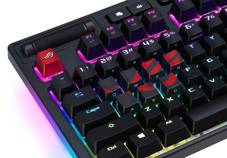 ASUS TUF Gaming K7 & ROG Strix CTRL Gaming Keyboards, ROG