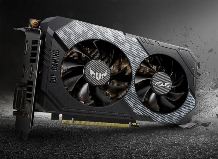 ASUS Adds TUF Series RTX 2060 Graphics cards