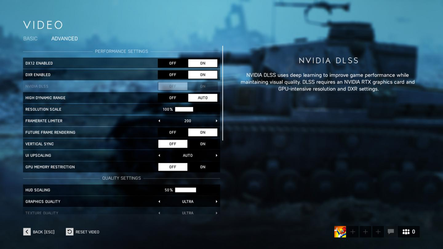 Battlefield V Patch offers NVIDIA DLSS Support (+ initial benchmarks)