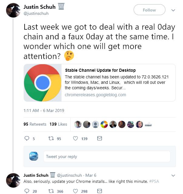 google roll 20 times