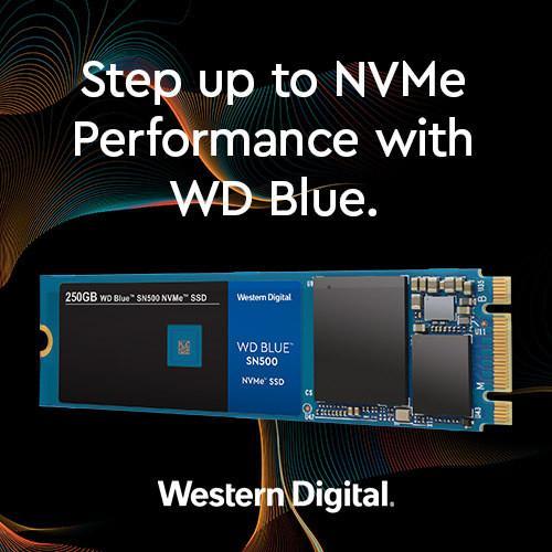 Western Digital releases WD Blue SSD NVMe