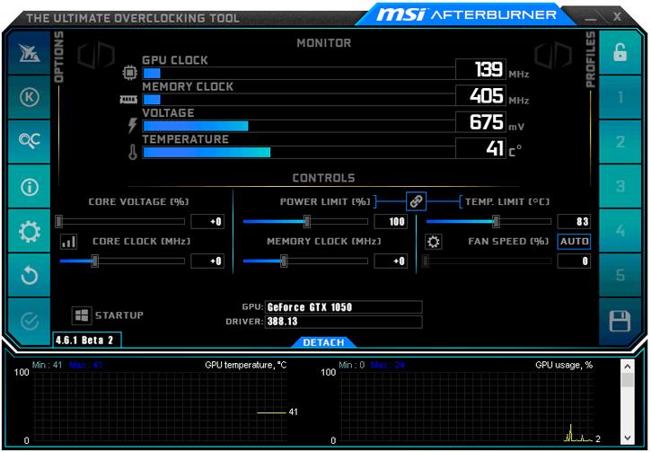 Download: MSI Afterburner 4 6 1 Beta 2