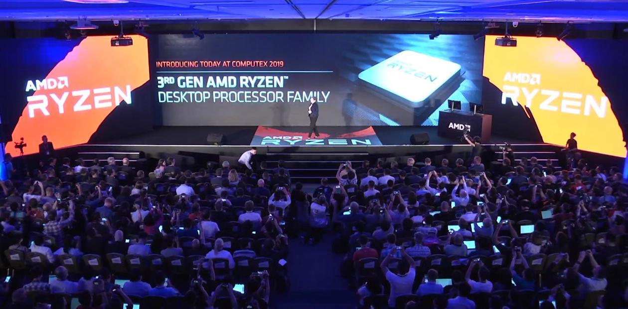 AMD Computex 2019 Keynote: watch the livestream with X570 / Ryzen