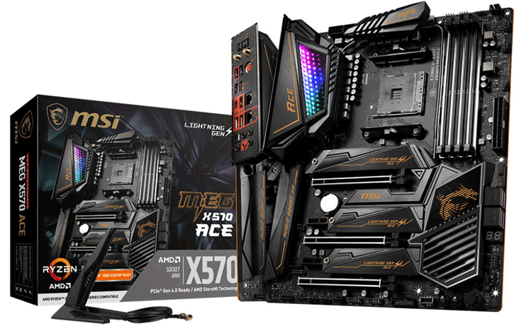 MSI Outs Multiple X570 motherboards: GODLIKE, ACE and CREATION