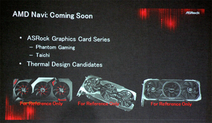 ASRock: Custom NAVI Cards Available In August - concept photos