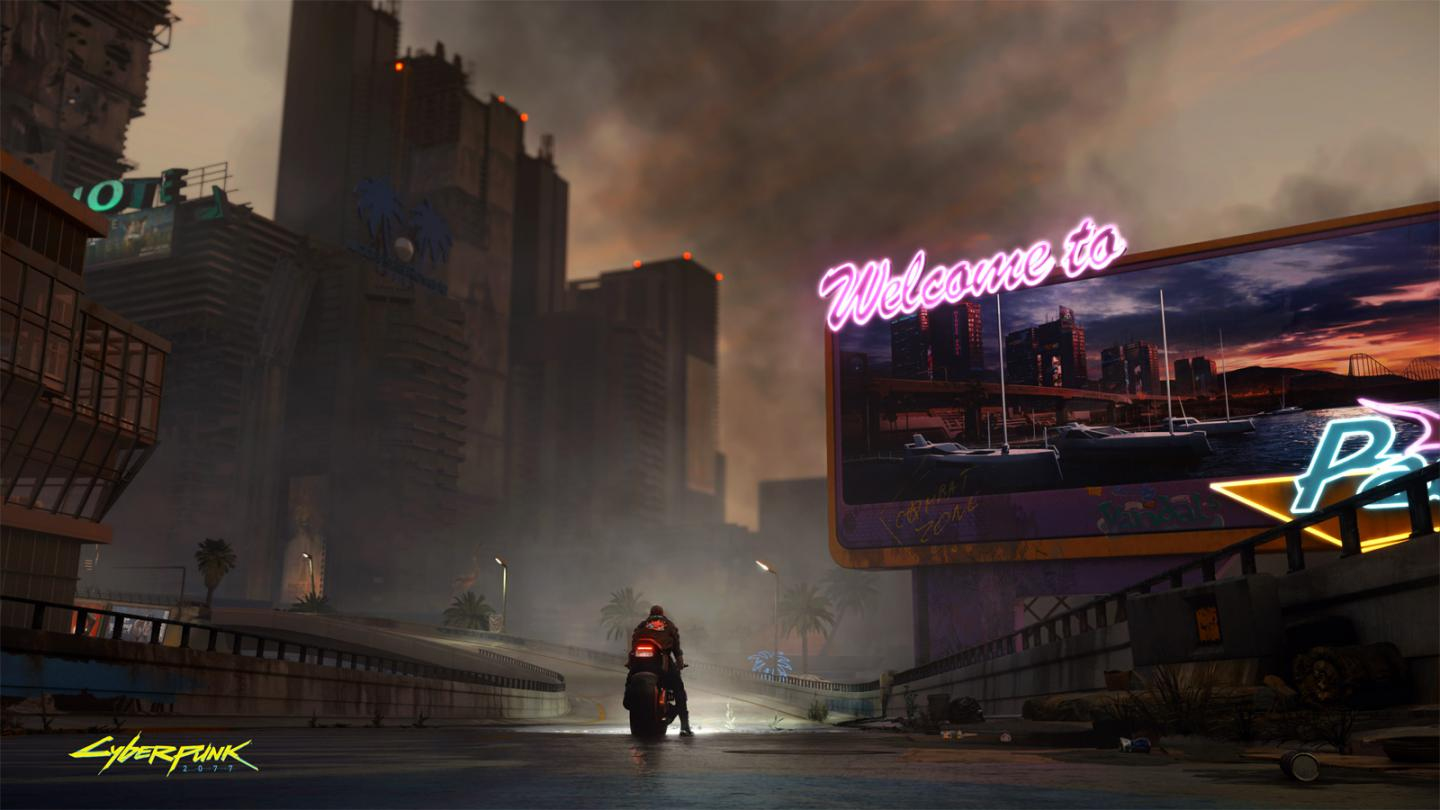 Update: Cyberpunk 2077 PC version with raytracing, first