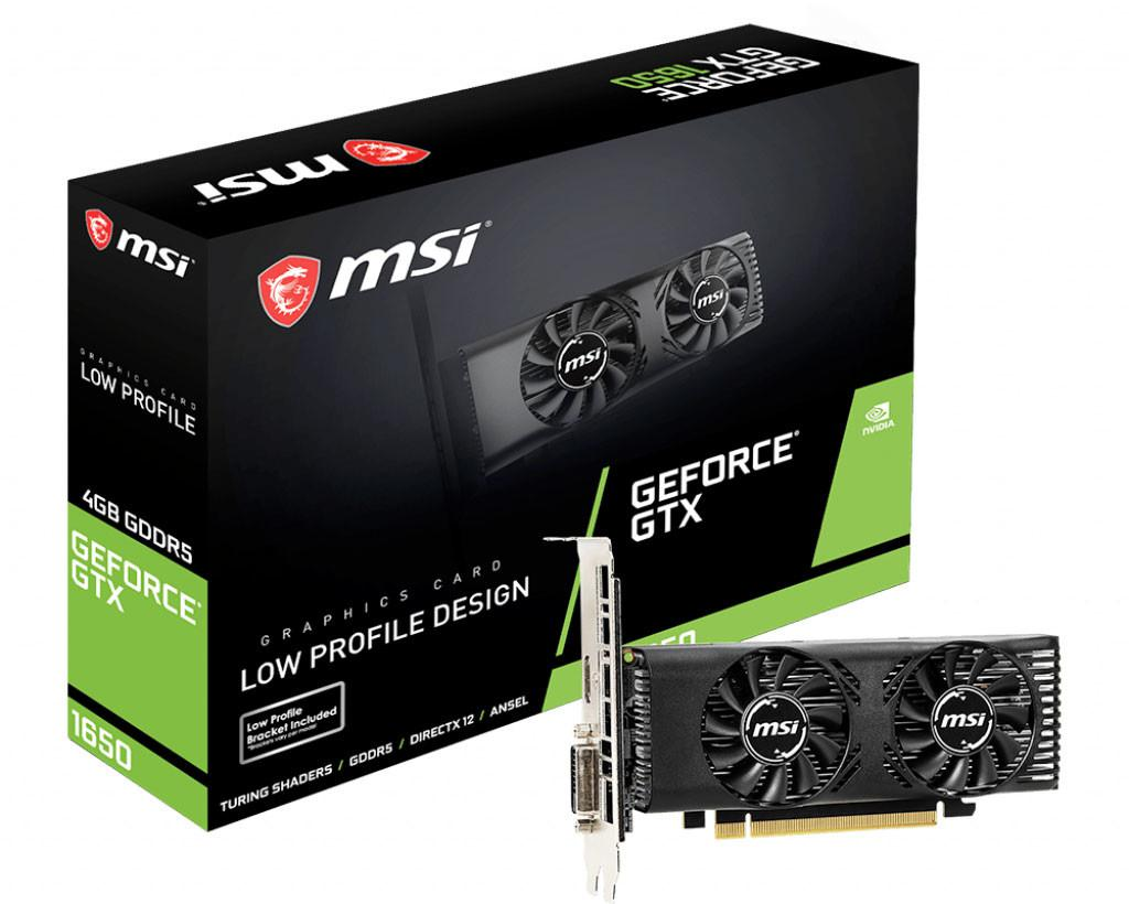 MSI Outs a Low-profile GeForce GTX 1650 Graphics Card