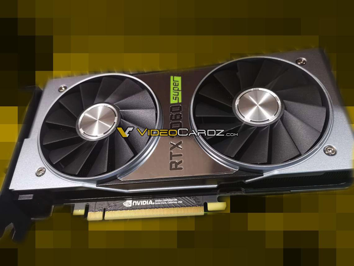 Photos of the Nvidia GeForce RTX 2060 Super Founder Edition