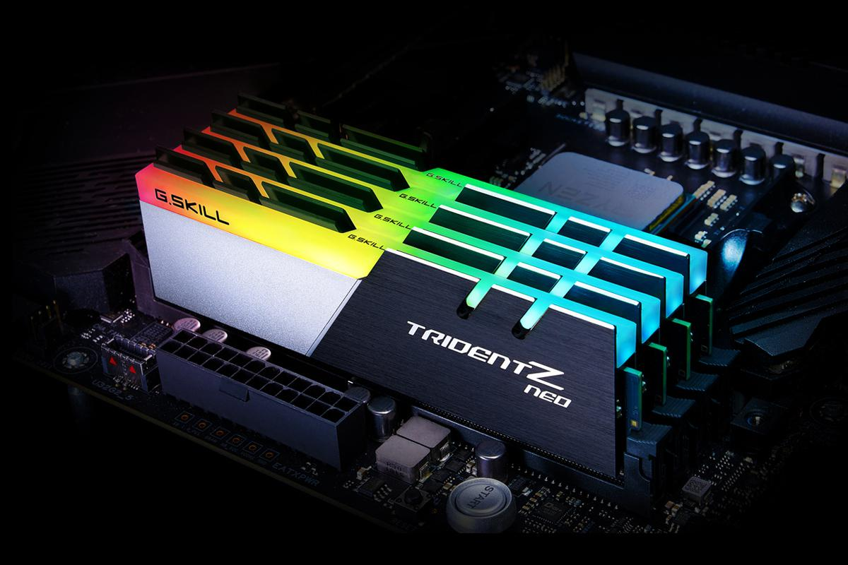 G SKILL Announces Trident Z Neo DDR4 Memory Series for Ryzen 3000
