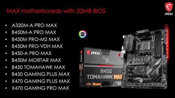 MSI launches new revisions of AMD 300 and 400 motherboards