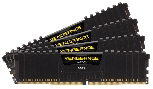 Corsair Launches New 32GB Modules of High-Performance VENGEANCE LPX