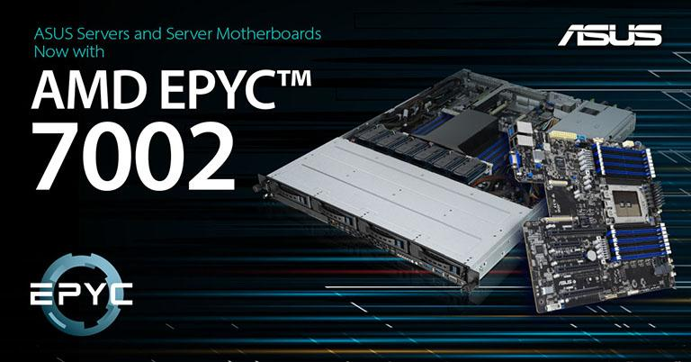 ASUS Announces AMD EPYC 7002 Series Processor Servers and