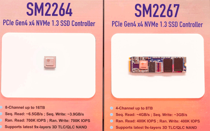 Silicon Motion Also Fires Off Two New PCIe 4 0 SSD controllers