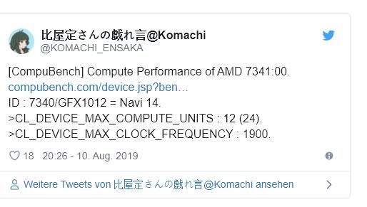 AMD 7341:00 - Radeon RX 570 Successor spotted?