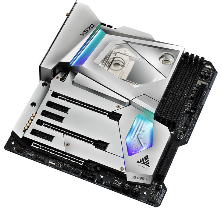 ASRock Announces X570 AQUA Motherboard