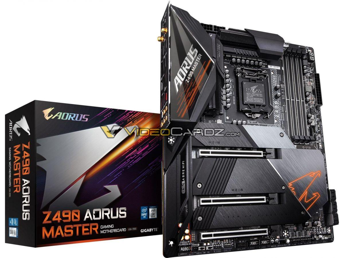 Gigabyte Aorus Z490 Motherboard Lineup Leaked Ready For Pcie Gen 4