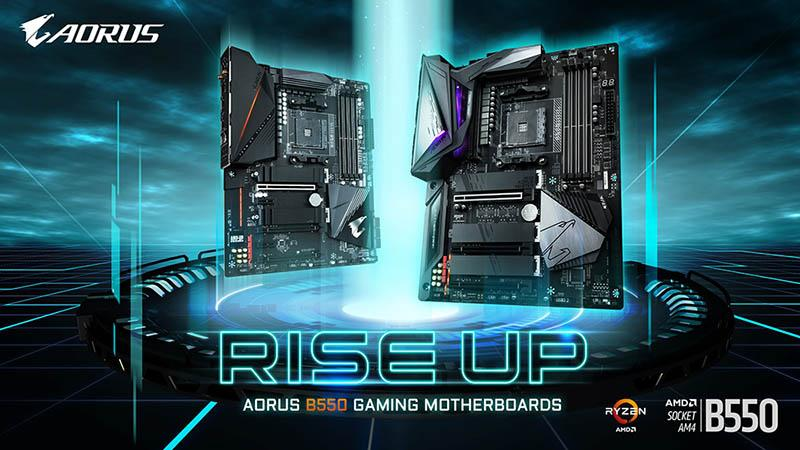 Gigabyte Presents Its B550 Motherboards Lead By The B550 Aorus Master